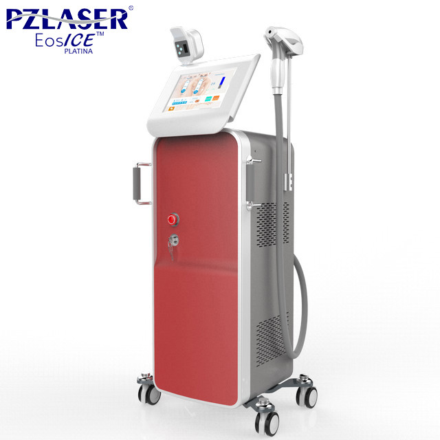 Commercial Laser Hair Removal Machine , Leg Hair Removal Diode Laser System