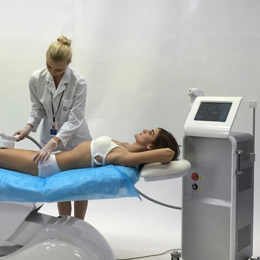 Stationary Diode Laser Hair Removal Equipment , Laser Body Hair Removal Machine
