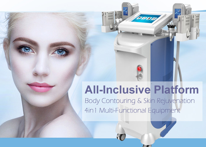 Body Slimming Multifunction Beauty Machine Cryo+ Lipo Laser + Cavitation + Rf Technology